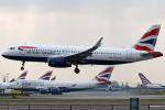 Double_Hさんが、ロンドン・ヒースロー空港で撮影したブリティッシュ・エアウェイズ A320-232の航空フォト(写真)