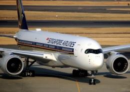 new_2106さんが、羽田空港で撮影したシンガポール航空 A350-941XWBの航空フォト(写真)