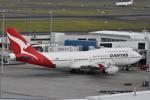たっしーさんが、シドニー国際空港で撮影したカンタス航空 747-438の航空フォト(写真)