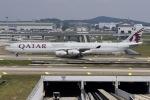 クアラルンプール国際空港 - Kuala Lumpur Internatonal Airport [KUL/WMKK]で撮影されたカタール航空 - Qatar Airways [QR/QTR]の航空機写真