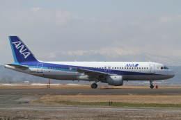 プルシアンブルーさんが、仙台空港で撮影した全日空 A320-211の航空フォト(飛行機 写真・画像)