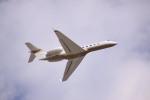 けいとパパさんが、成田国際空港で撮影したMGMミラージュ G-V Gulfstream Vの航空フォト(写真)