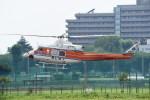 kumagorouさんが、調布飛行場で撮影した和歌山県防災航空隊 412EPの航空フォト(写真)