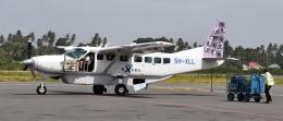nairobi1971さんが、ザンジバル国際空港で撮影したエアエクセル 208B Grand Caravanの航空フォト(飛行機 写真・画像)