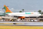 Photo : T.Nakanishiさんが、カフルイ空港で撮影したトランスエア 737-2T4C/Advの航空フォト(写真)