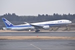 Yu-さんが、成田国際空港で撮影した全日空 777-381/ERの航空フォト(写真)