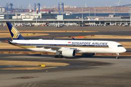 takaRJNSさんが、羽田空港で撮影したシンガポール航空 A350-941XWBの航空フォト(写真)