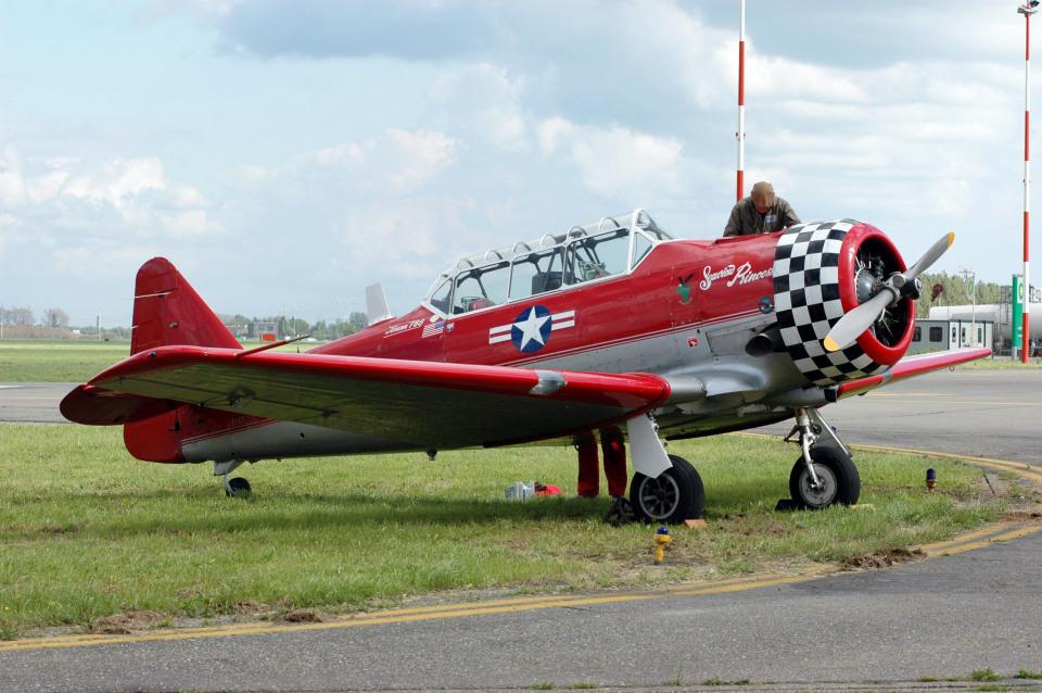 GambardierさんのStampe & Vertongen Museum North American T-6 Texan (N4109C) 航空フォト