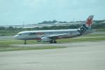 職業旅人さんが、ブリスベン空港で撮影したジェットスター A320-232の航空フォト(写真)