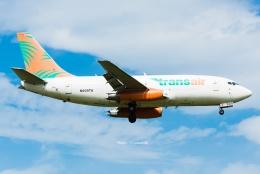 Photo : T.Nakanishiさんが、カフルイ空港で撮影したトランスエア 737-209/Adv(F)の航空フォト(飛行機 写真・画像)