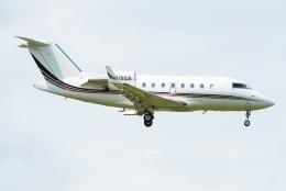 Photo : T.Nakanishiさんが、カフルイ空港で撮影したネットジェッツ・エイビエーション CL-600-2B16 Challenger 601-3Aの航空フォト(飛行機 写真・画像)