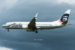 Photo : T.Nakanishiさんが、カフルイ空港で撮影したアラスカ航空 737-890の航空フォト(写真)