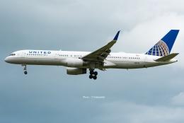 Photo : T.Nakanishiさんが、カフルイ空港で撮影したユナイテッド航空 757-224の航空フォト(飛行機 写真・画像)