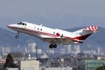 yabyanさんが、名古屋飛行場で撮影した航空自衛隊 U-125 (BAe-125-800FI)の航空フォト(写真)