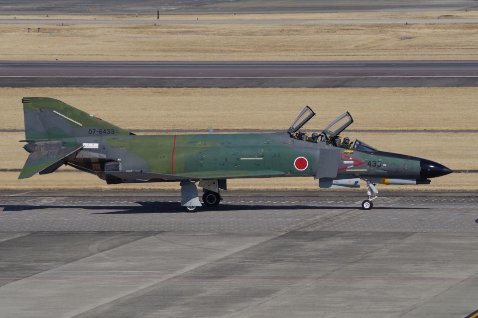 yabyanさんの航空自衛隊 Mitsubishi RF-4EJ Phantom II (07-6433) 航空フォト