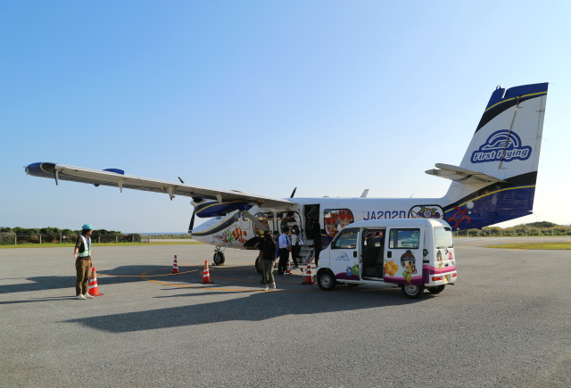 ケロさんが、粟国空港で撮影した第一航空 DHC-6-400 Twin Otterの航空フォト(飛行機 写真・画像)