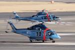 yabyanさんが、名古屋飛行場で撮影した大阪府警察 AW139の航空フォト(飛行機 写真・画像)