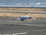 sp3混成軌道さんが、岡南飛行場で撮影した国土交通省 地方整備局 412EPの航空フォト(写真)
