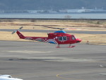 sp3混成軌道さんが、岡南飛行場で撮影した岡山県消防防災航空隊 412EPの航空フォト(写真)