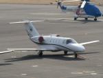 sp3混成軌道さんが、岡南飛行場で撮影した韓瑞大学校 525 Citation CJ1+の航空フォト(写真)