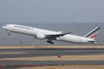 いっとくさんが、羽田空港で撮影したエールフランス航空 777-328/ERの航空フォト(写真)