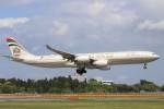 青春の1ページさんが、成田国際空港で撮影したエティハド航空 A340-541の航空フォト(写真)