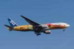 こむぎさんが、羽田空港で撮影した全日空 777-281/ERの航空フォト(写真)