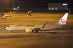 じゃりんこさんが、中部国際空港で撮影した日本航空 737-846の航空フォト(写真)