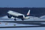 中村 昌寛さんが、新千歳空港で撮影した日本航空 777-346の航空フォト(写真)