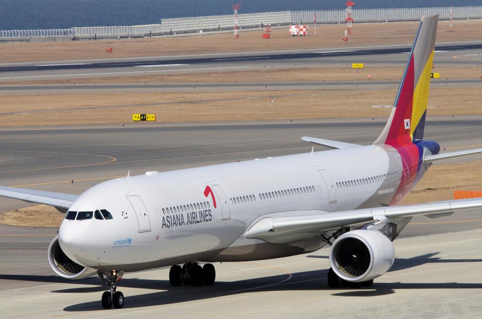yabyanさんのアシアナ航空 Airbus A330-300 (HL7794) 航空フォト