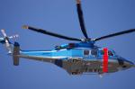 yabyanさんが、中部国際空港で撮影した千葉県警察 AW139の航空フォト(写真)