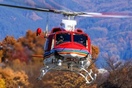 航空フォト:JA97NA 長野県消防防災航空隊 412
