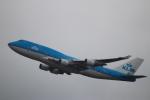 zero1さんが、香港国際空港で撮影したKLMオランダ航空 747-406Mの航空フォト(写真)