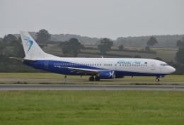 IL-18さんが、ロンドン・ルートン空港で撮影したブルー・エア 737-46Nの航空フォト(飛行機 写真・画像)