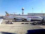 cornicheさんが、ドバイ国際空港で撮影したエチオピア航空 A350-941XWBの航空フォト(飛行機 写真・画像)