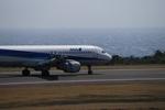 m-takagiさんが、八丈島空港で撮影した全日空 A320-211の航空フォト(飛行機 写真・画像)