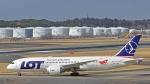 成田国際空港 - Narita International Airport [NRT/RJAA]で撮影されたLOTポーランド航空 - LOT Polish Airlines [LO/LOT]の航空機写真
