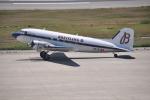 うすさんが、神戸空港で撮影したスーパーコンステレーション飛行協会 DC-3Aの航空フォト(写真)