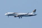 青春の1ページさんが、関西国際空港で撮影したMGMミラージュ ERJ-190-100 ECJ (Lineage 1000)の航空フォト(写真)