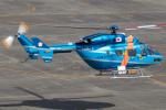 まんぼ しりうすさんが、名古屋飛行場で撮影した茨城県警察 BK117C-1の航空フォト(写真)