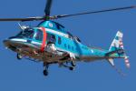 まんぼ しりうすさんが、名古屋飛行場で撮影した愛媛県警察 A109E Powerの航空フォト(写真)