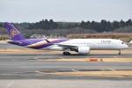 shimashimaさんが、成田国際空港で撮影したタイ国際航空 A350-941XWBの航空フォト(写真)