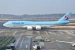 shimashimaさんが、成田国際空港で撮影した大韓航空 747-8B5の航空フォト(写真)