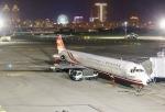 あしゅーさんが、台北松山空港で撮影した遠東航空 MD-83 (DC-9-83)の航空フォト(飛行機 写真・画像)