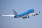 cornicheさんが、ロサンゼルス国際空港で撮影したKLMオランダ航空 747-406Mの航空フォト(飛行機 写真・画像)