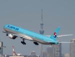 名無しの権兵衛さんが、羽田空港で撮影した大韓航空 777-3B5の航空フォト(写真)