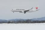 なないろさんが、女満別空港で撮影した日本航空 737-846の航空フォト(写真)