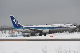 なないろさんが、紋別空港で撮影した全日空 737-881の航空フォト(飛行機 写真・画像)
