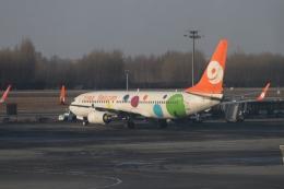 TAOTAOさんが、長春龍嘉国際空港で撮影した9エア 737-8GPの航空フォト(飛行機 写真・画像)