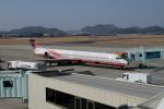 ピーノックさんが、高知空港で撮影した遠東航空 MD-83 (DC-9-83)の航空フォト(写真)